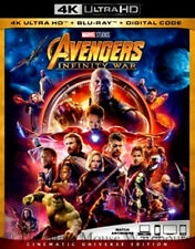 Authentic Avengers Infinity War 4K Blu-ray Digital Pre-Order Marvel Release 8/14