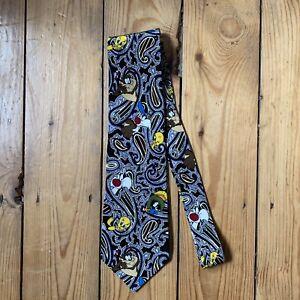 Warner Brothers Vintage Pure Silk Tie 1995