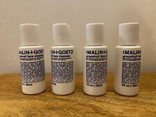 Malin + Goetz Pomelo Cara Limpiador 4 X 30ml Mini Tamaño De Viaje Paquete De Cinco