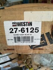 New Westin 27-6125 Sure Grip Black Aluminum Running Board-Limited Westin 27-6125