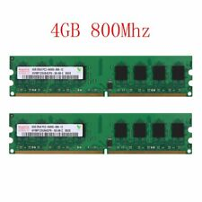 8GB 2x 4GB DDR2 800MHz PC2-6400U PC DIMM intel Desktop Memory RAM For Hynix 02