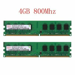 8GB 2x 4GB DDR2 800MHz PC2-6400U PC DIMM intel Desktop Memory RAM For Hynix 02