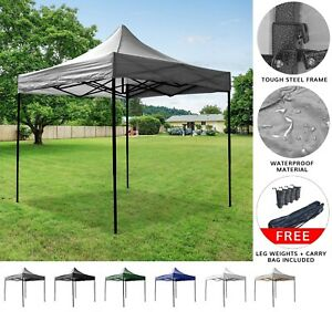 Airwave Four Seasons Commercial Plus Pop Up Gazebo no Sides Various Options