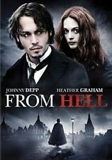 From Hell 0024543054481 With Johnny Depp DVD Region 1