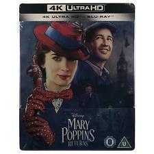 Mary Poppins Returns 4k Ultra HD Steelbook Limited Edition Blu-ray