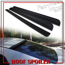 06-11 Unpainted FOR Honda Civic 8th Rear Roof Lip Spoiler Wing Window Visor 4DR