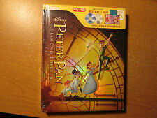 Peter Pan  (Buray/ DVD,w/32 page storybook) OOP.Target Exclusive Digibook Disney
