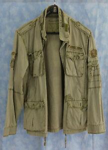 Alpha Industries - Herren Fieldjacket Oliv Gr. XXL  – Jacke / Parka / Military
