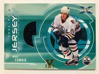 2002-03 Be A Player Signature Series Game-Used Jersey Mike Comrie Vault Gold 1/1