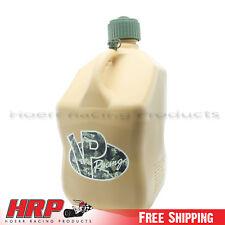 2 Pack VP Tactical Tan Square 5 Gallon Racing Fuel Jug Multipurpose Gas Can