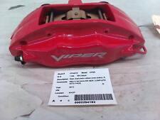 DODGE VIPER RIGHT REAR CALIPER 2003 2004 2005 2006 2008 2009 2010 RED