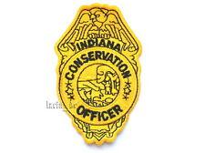 USA Insigne de police (9 cm) un écusson pour uniforme Indiana Police Patch Ecusson