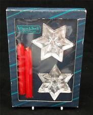Villeroy & e Boch 24% PIOMBO Bicchiere di cristallo STARLET paio Portacandele
