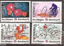 Spain  Edifil # 2994/2997 ** MNH Set  Olimpiada Barcelona 92  / sports