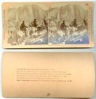 STEREOVIEW. YOSEMITE FALLS 1894