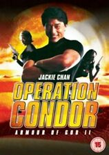 Operation Condor Armour Of God 2 DVD Jackie Chan Alan Tam UK Rele New Sealed R2