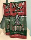 2 Packs 1000 Strands Christmas Tree Tinsel Icicles Brite Star New Sealed