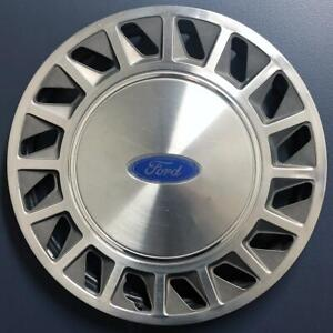 """ONE 1988-1994 Ford Tempo / Aerostar # 870 14"""" Hubcap Wheel Cover OEM # F23Z1130A"""