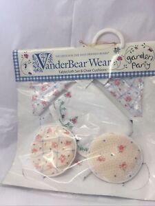 Muffy Vanderbear Garden Party Picnic Set 1998