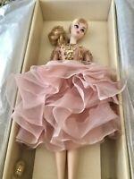 SILKSTONE Barbie: BLUSH & GOLD COCKTAIL DRESS 2016 #DWF55 NRFB'