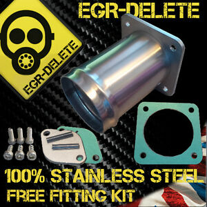 For LAND ROVER DISCOVERY 2 DEFENDER TD5 EGR DELETE Valve blanking plate Removal