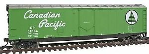 WALTHERS TRAINLINE HO SCALE TL 50' PD BOXCAR CP | BN | 931-1673