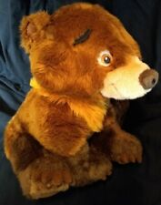 AUTHENTIC DISNEY STORE EXCLUSIVE BROTHER BEAR KODA PLUSH STUFFED TEDDY BEAR TOY