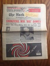 1965 The Hockey News Magazine December 4th Issue Gordie Howe