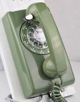 Antique Telephone Model 554 - Moss Green - Fully Refurbished - SKU 22014