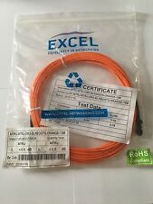 10-Meter MT-RJ to MTRJ Multimode Fiber Duplex Patch Cord New Still Sealed