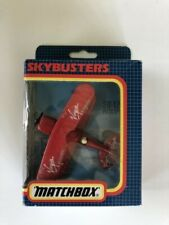 Matchbox Skybusters Virgin Altlantic SB-12 Pitts Special Diecast airplane toy