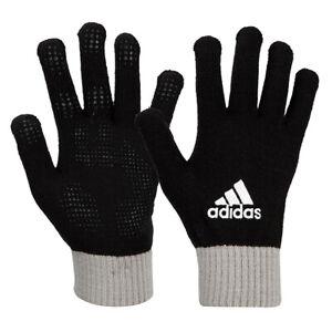 Adidas BC Knit Gloves Winter Warm Running Sports Outdoor Black GD8943