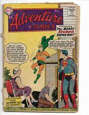 ADVENTURE COMICS 260 - G- 1.8 - 1ST SILVER AGE ORIGIN OF AQUAMAN (1959)