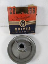 Congress Vintage New Nos V Grooved Belt Pulley 4 Diameter Type A 58 Bore