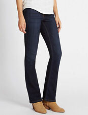 Marks and Spencer Indigo, Dark wash Bootcut Jeans for Women