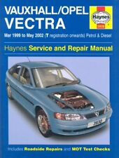 Vauxhall/Opel Vectra Petrol & Diesel (Mar 99 - May 02) Haynes Repair Manual: M,