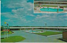 "Marysville KS  ""The Surf Motel""  Postcard Kansas    *FREE U.S. SHIPPING"