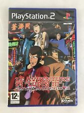 PS2 Lupin III Lupin la Morte Zenigata l'Amore, Italian, New & Factory Sealed