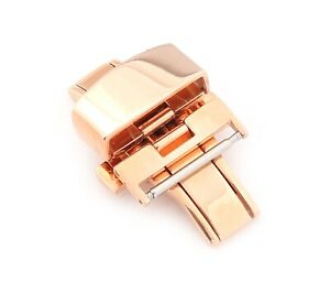 """Deployment Clasp for Watch Bands, Model """"Classic"""", 16-22 mm, 4 colors, new!"""