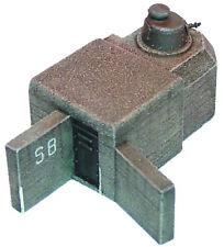 Artmaster 80.315 Tobruk mit FT 17 (f) Turm Bunker H0 1 87 Bausatz Keramik