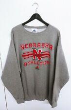 Vtg 1990s Nebraska Cornhuskers Adidas Made in USA Sweatshirt Size (XL)