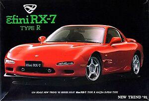 Mazda RX-7 FD3S Efini RX-7 1991–2002 1:24 Bausatz Kit