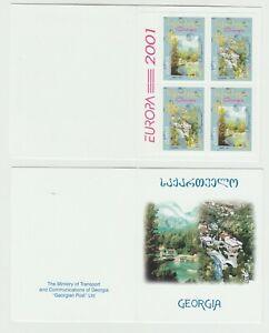 S36614 Georgia Europa Cept MNH 2001 Booklet