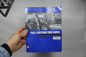 NEW Buell Lightning XB9S official 99571-03Y parts manual catalog 2003 EP21975