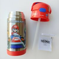 Thermos Mario Kart 12oz FUNtainer Stainless Steel Water Bottle w/ Bail Handle