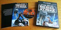 Star Wars Rebel Strike Gamecube Perfetta Edizione Italiana Completa Disco Nuovo