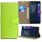 Leather Flip Wallet Phone Cover Case For Sony Xperia Z Z1 Z2 Z3 Z4 Z5 Compact