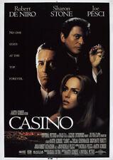 CASINO 1995 Robert De Niro, Sharon Stone – Movie Cinema Poster Art Print