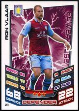 Ron Vlaar Aston Villa #23 Topps Match Attax Football 2012-13 Trade Card (C440)