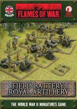 Flames of War Field Battery Royal Artillery BBX21 NEW
